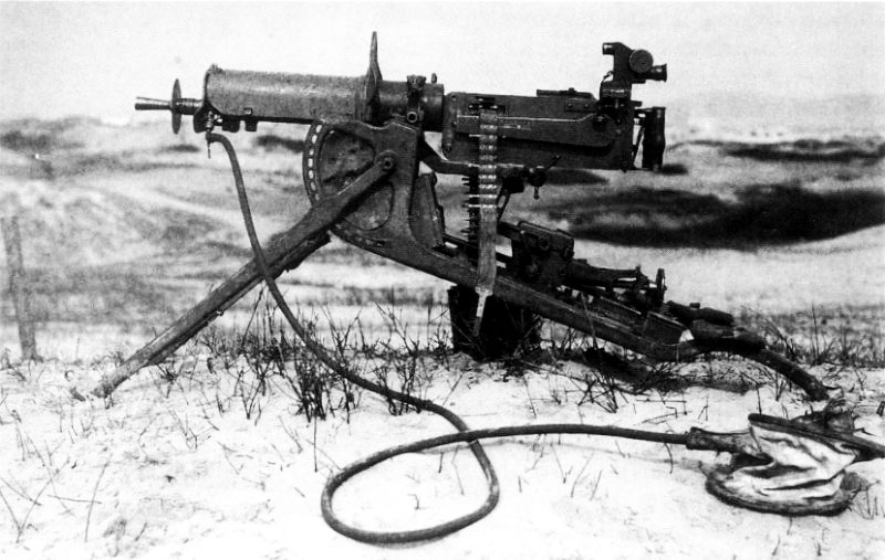 Machine Gun World War 1 The german machine gun was