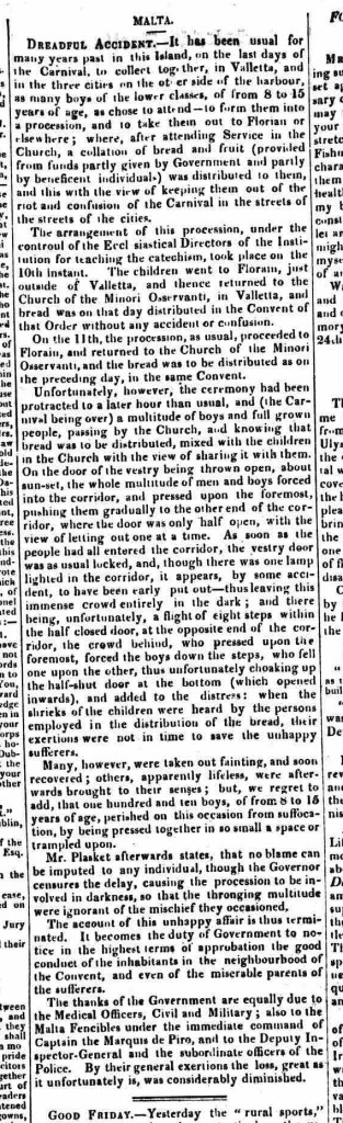 Morning Advertiser - Saturday 29 March 1823