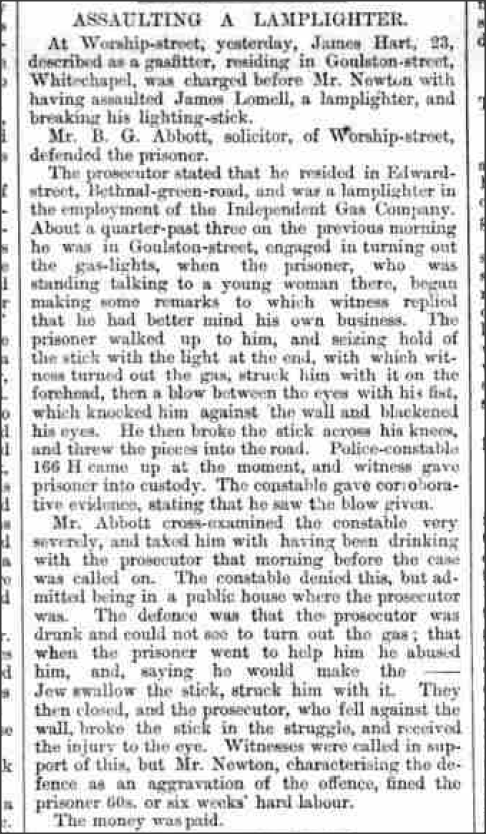Clerkenwell News - Wednesday 14 July 1869